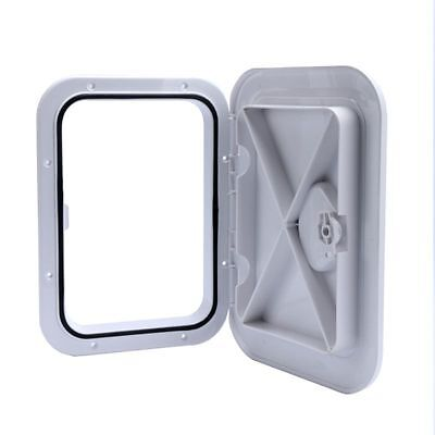 "White DECK ACCESS HATCH /& LID 14-1//2/"" X 14-5//8/""For MARINE//BOAT//Caravan FREE SHIP"
