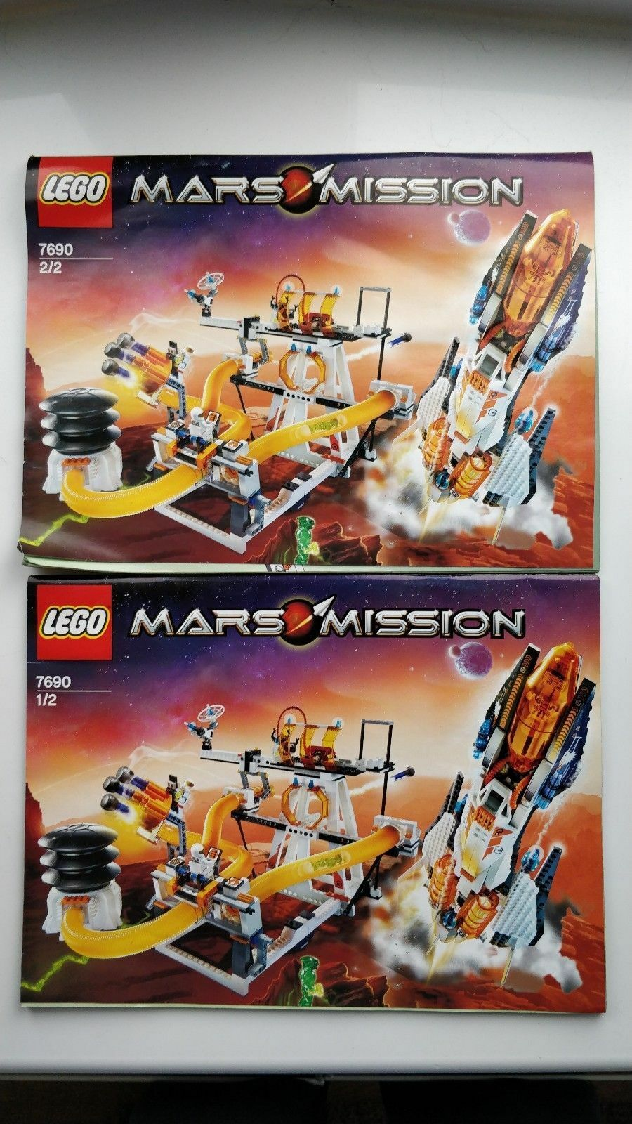 Lego Mars Mission 7690 mb-01 Command Center with Figures  100% Complete