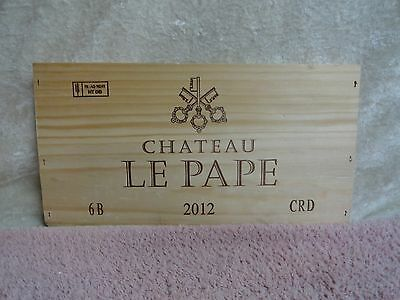 Wine Bags, Boxes & Carriers Bar Tools & Accessories 2012 Chateau Le Pape Keys Wood Wine Panel End 3/8'' Thickness