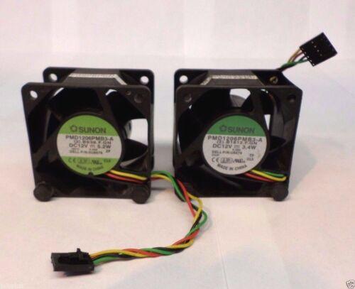 LOT OF 2 Dell OptiPlex San Ace GX620 SX280 USFF U8679 WW138 U1295 CaseFan SERIES