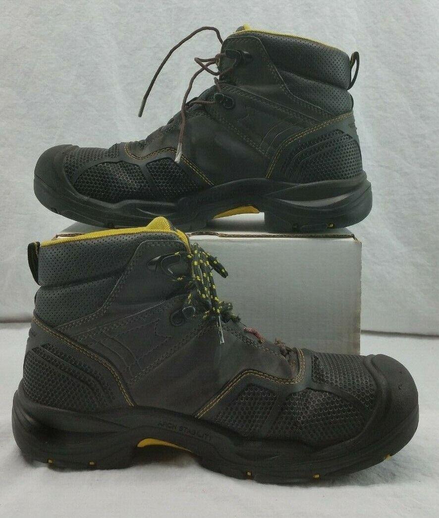 KEEN 1017828 para hombre Logandale 6  WP EH Puntera De Acero botas De Trabajo Negro D