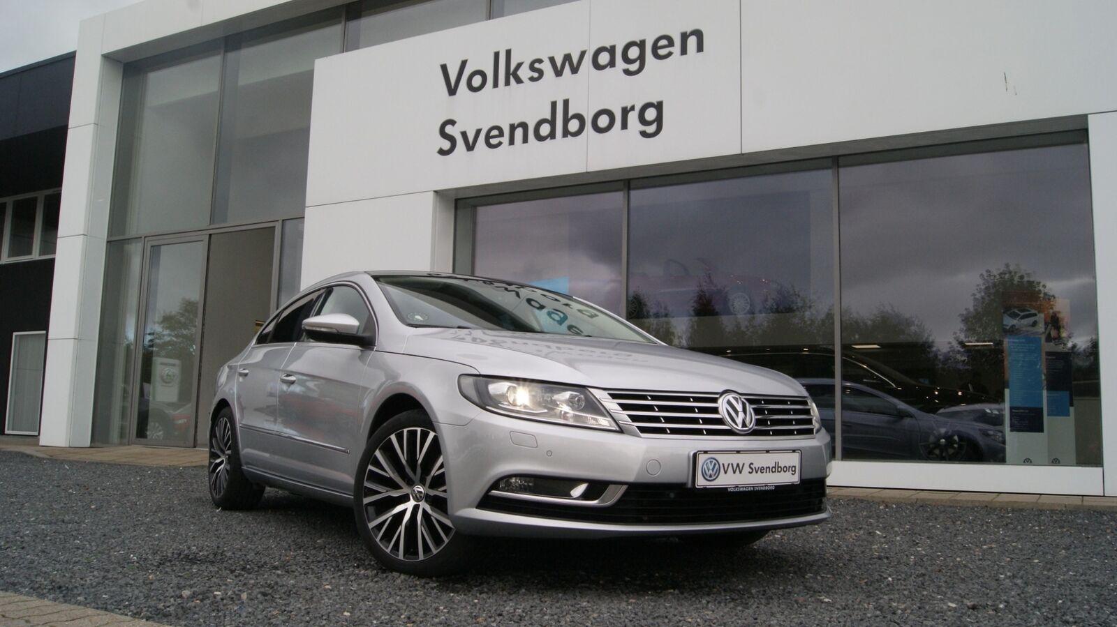 VW CC 2,0 TDi 140 DSG BMT 4d - 249.800 kr.