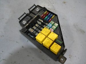 Details about MG ZR 160 VVC Fuse Box YQE000700 on