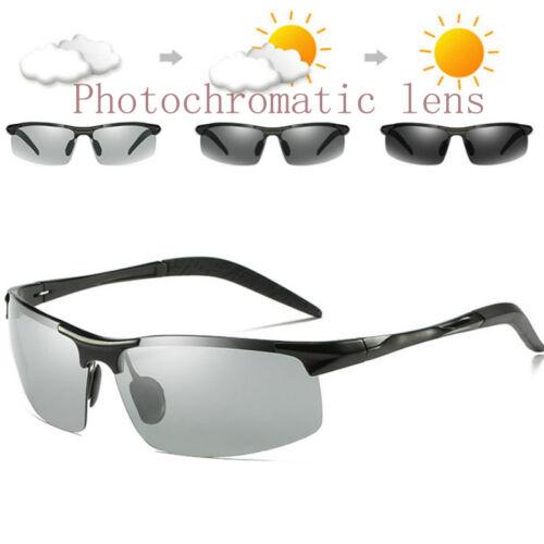 Photochrome-Vert-Homme-Lunettes de soleil-Driving-Pilote-VERRES Lunettes-Lunettes