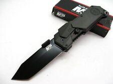Couteau Smith&Wesson M&P Tanto SWATT Acier 4034 Manche Alu Brise Vitres SWMP9BT