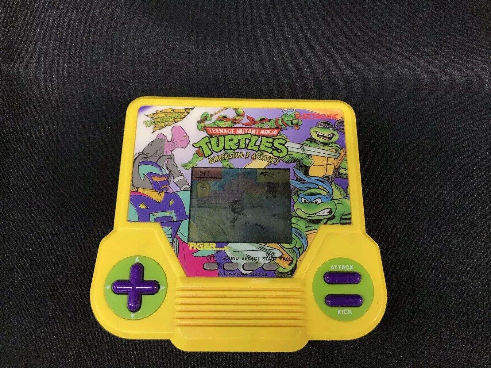 descuento de bajo precio Tmnt Dimension X asalto Tigre de de de mano Teenage Mutant Ninja Turtles no hay sonido  clásico atemporal