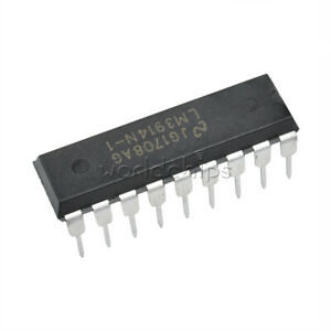10PCS LED Display Driver IC NSC DIP-18 LM3914N-1 LM3914N-1//NOPB