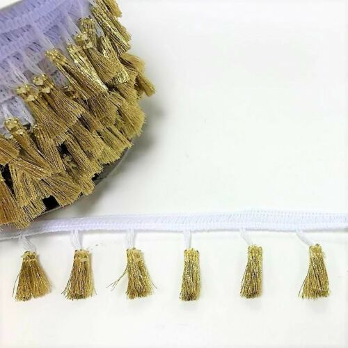 Bertie/'s Bows 38mm Tasselled Fringe sold by the metre