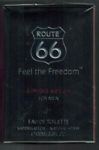 Details zu Route 66 Eau de toilette Vaporisateur Spray Feel the Freedom for men 100 ml