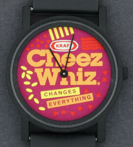USED-Kraft-Cheese-Cheez-Whiz-Advertising-Character-Watch