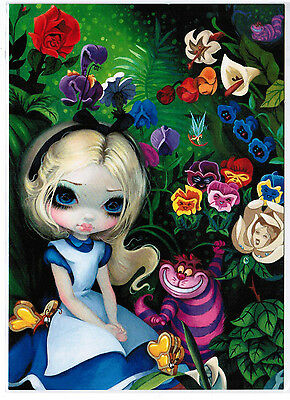 "Disney Postcard - ""Alice in the..."" - Jasmine Becket-Griffith - WonderGround"