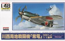 KAWANISHI N1K1-J TYPE 11 SHIDENKAI /GEORGE/ (JAPANESE MKGS)#4  1/48 ARII RARE