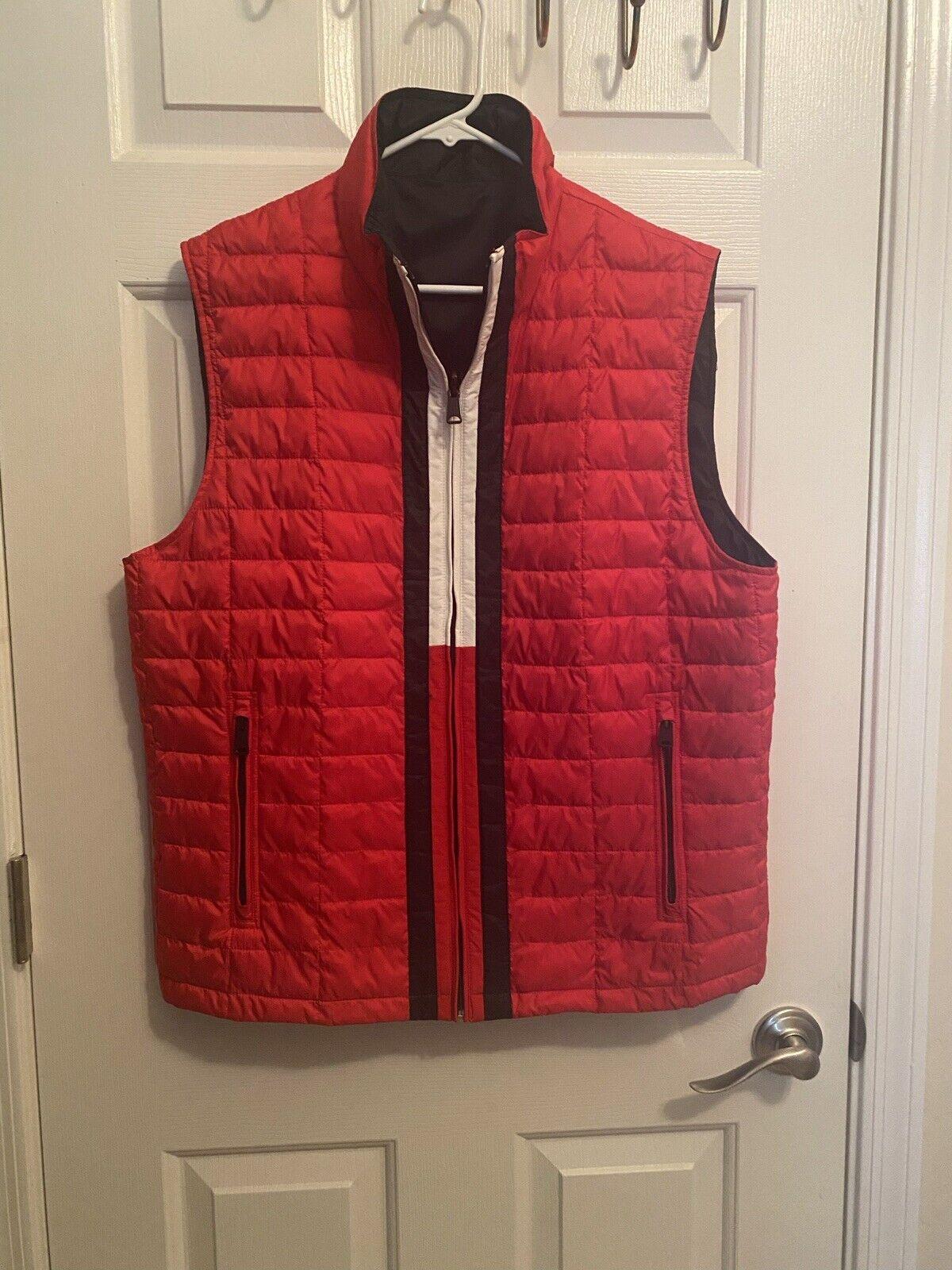 Mens Tommy Hilfiger Reversible Zip Front Vest.. S… - image 1