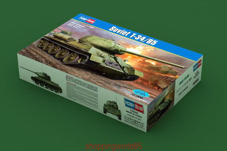 Hobbyboss model kit  82602  1 16 Scale  Soviet T-34 85