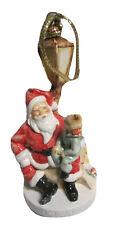 SEBASTIAN MINIATURE SML-123C Santa Claus Lamp Post ORNAMENT 2214