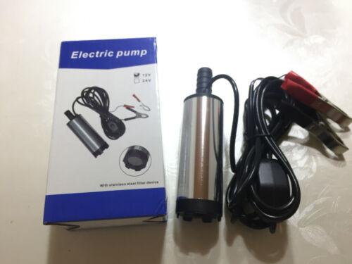 Tauchpumpe 12V für Auto KFZ Diesel Öl Heizöl 38MM Transfer Pumpe Wasserpumpe 12L