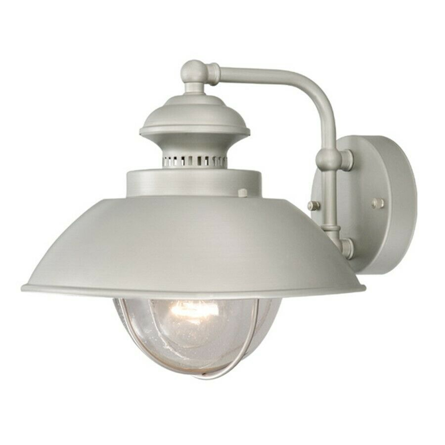 Vaxcel Harwich 10' Outdoor Wall Light  Brushed Nickel - OW21513BN