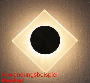 LED-Wandleuchten-Grazia-230Volt-Treppenstrahler-1-5W-Flur-Wand-Beleuchtung