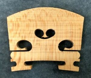 Violin Fiddle Maple Wood Unfitted Violin Bridge, 1/4 Size