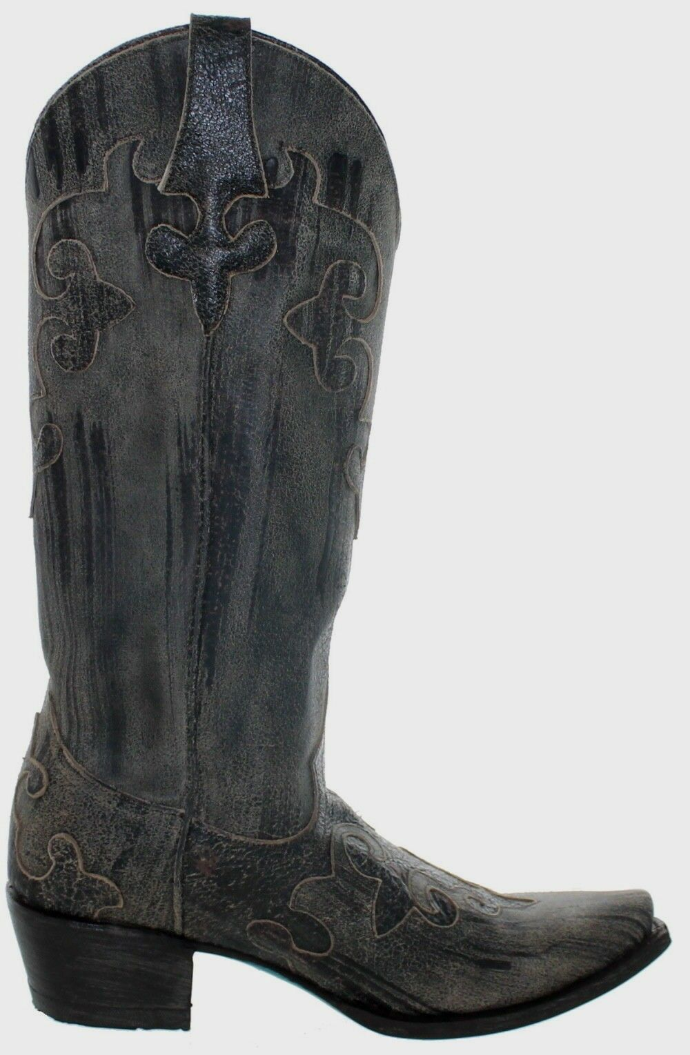 Women's Lane Boots Dawson Leather Western Boots Brown Brown Brown  Size 7 10532a