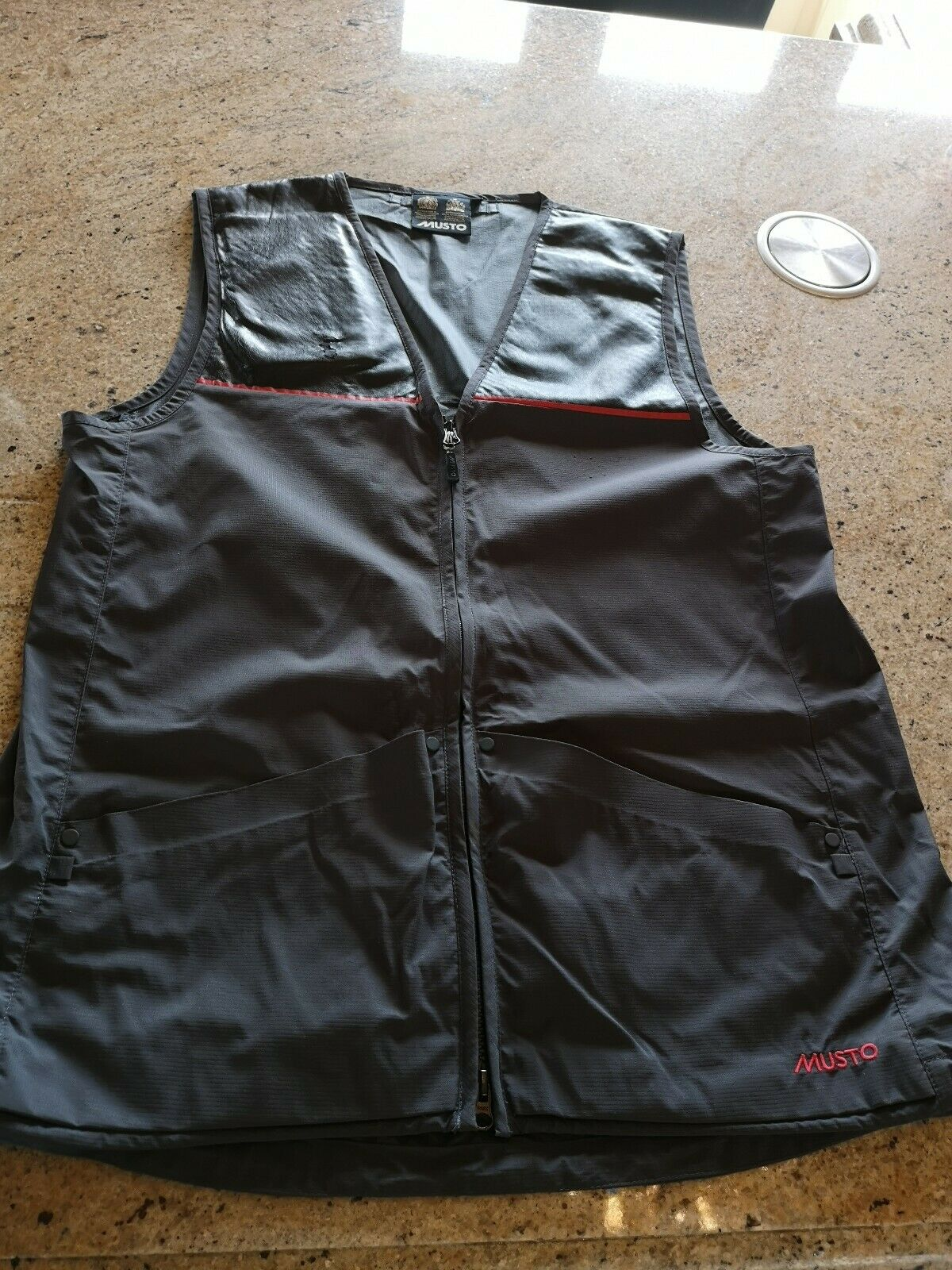 Musto Shooting Vest. Used. Good Condition. Size Medium