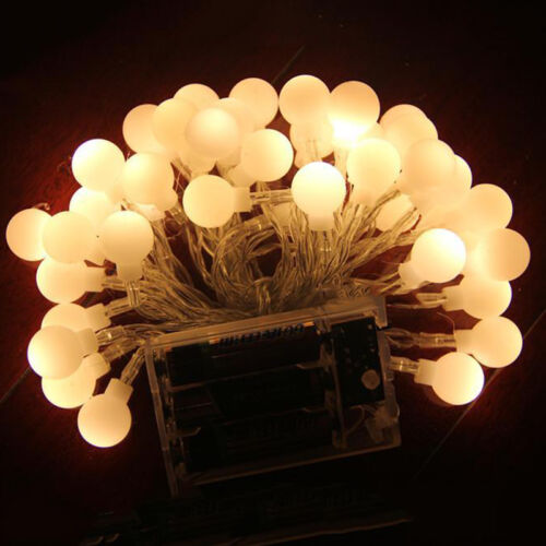 Battery Operated LED String Fairy Lights Lamp Wedding Party Prop Christmas Light