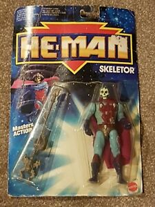 Mattel He-Man New Adventures SKELETOR Masters Action Figure MOC 1988