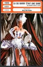LA DU BARRY ETAIT UNE DAME - Ball,Kelly(Fiche Cinéma) 1943 - Du Barry Was A Lady