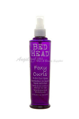 Tigi BED HEAD Foxy Curls Hi-Def Hidef Anti-Frizz Foxy Curls Pump Spray 200ml