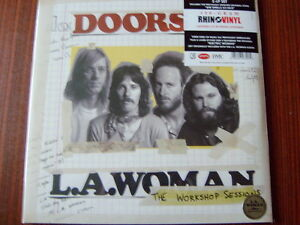 The-Doors-2x-LP-L-A-Woman-The-Workshop-Sessions-NEW-OVP