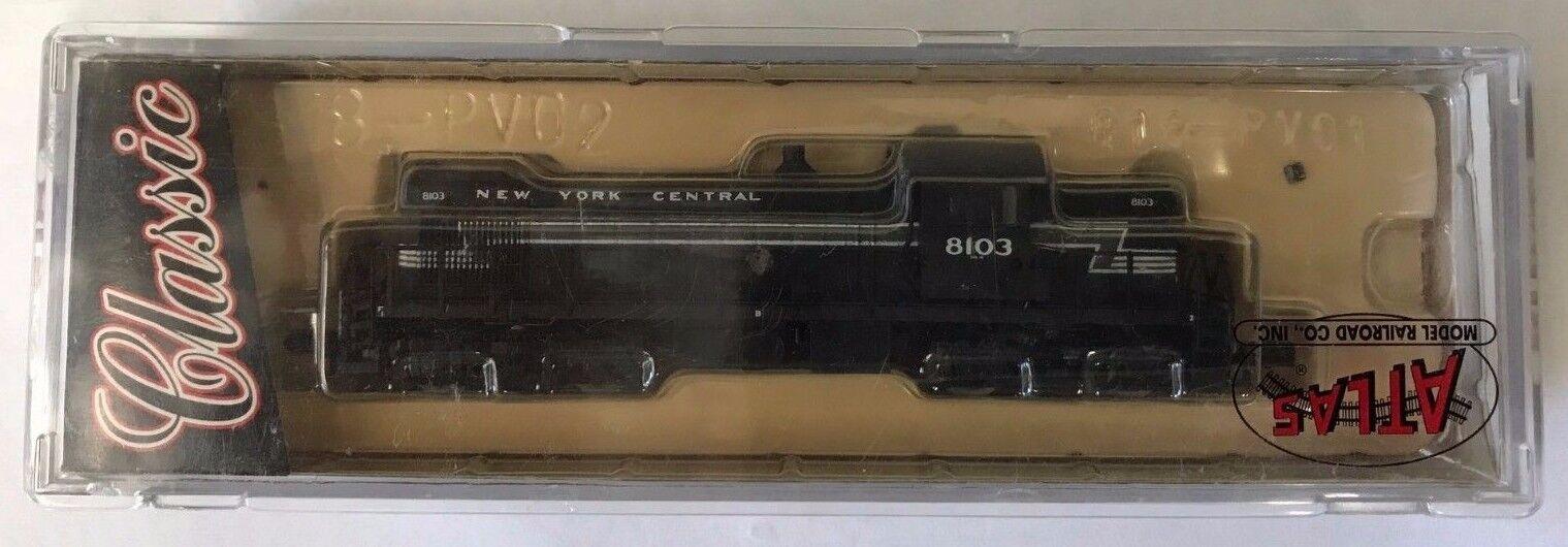 44011 Atlas Escala N RS-1 Nueva York Central Motor Nuevo En Caja