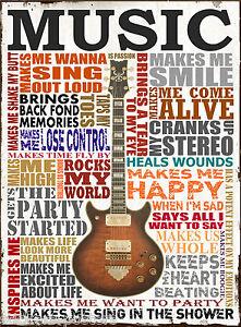 vintage music poster print wall art size a1 a2 a3 a4