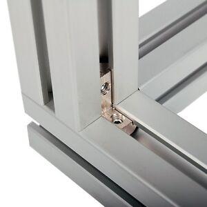 innenwinkel f r aluprofil 30x30 40x40 nut 8 profilverbinder verbindungstechnik. Black Bedroom Furniture Sets. Home Design Ideas