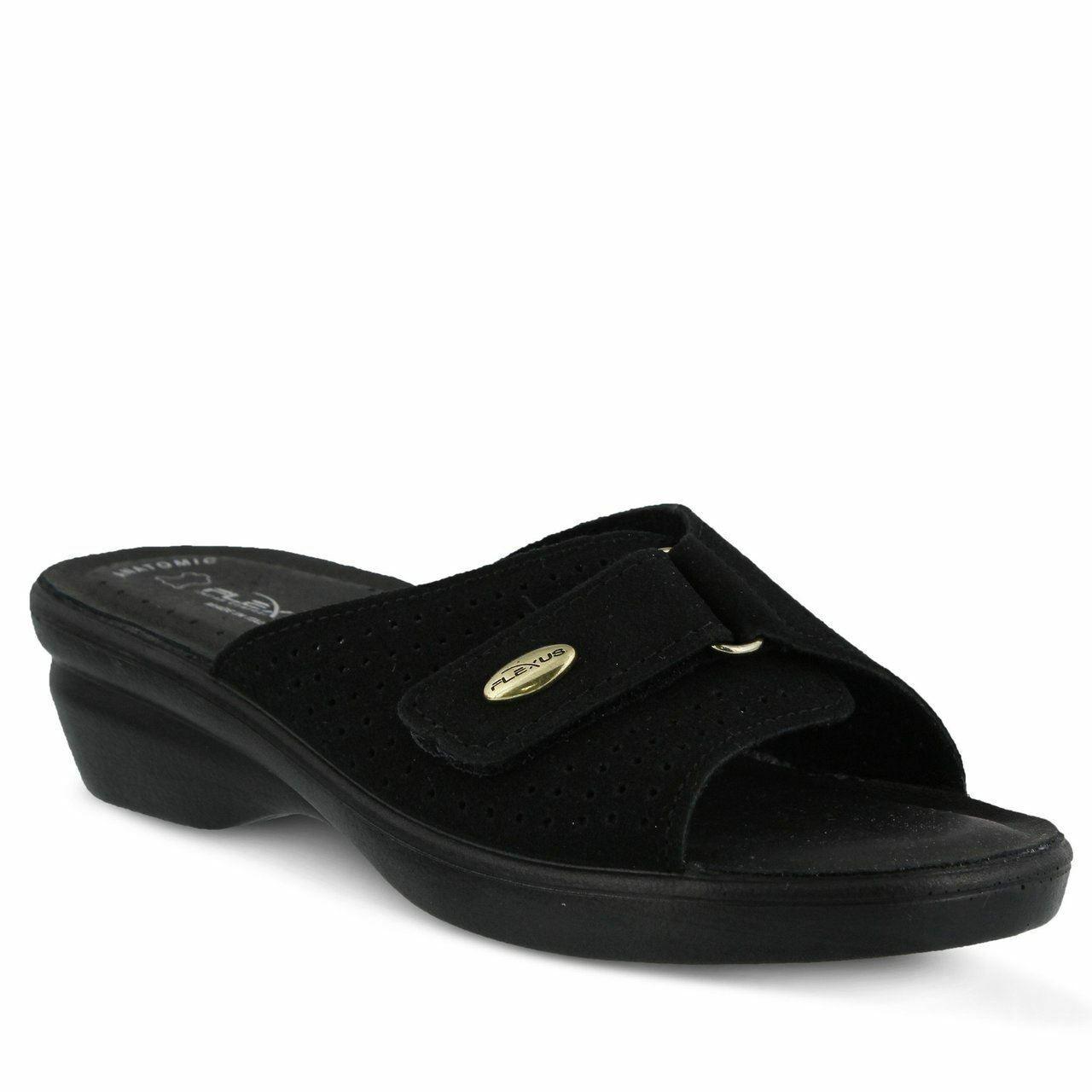 Spring Step Flexus Women's Kea Slide Sandal Black