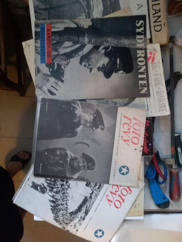 Bøger og blade, Illegale blade fra anden verdenskrig