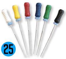 25mm Endodontic K Files K File Choose Size Inside Endo Dental Steel Rotary