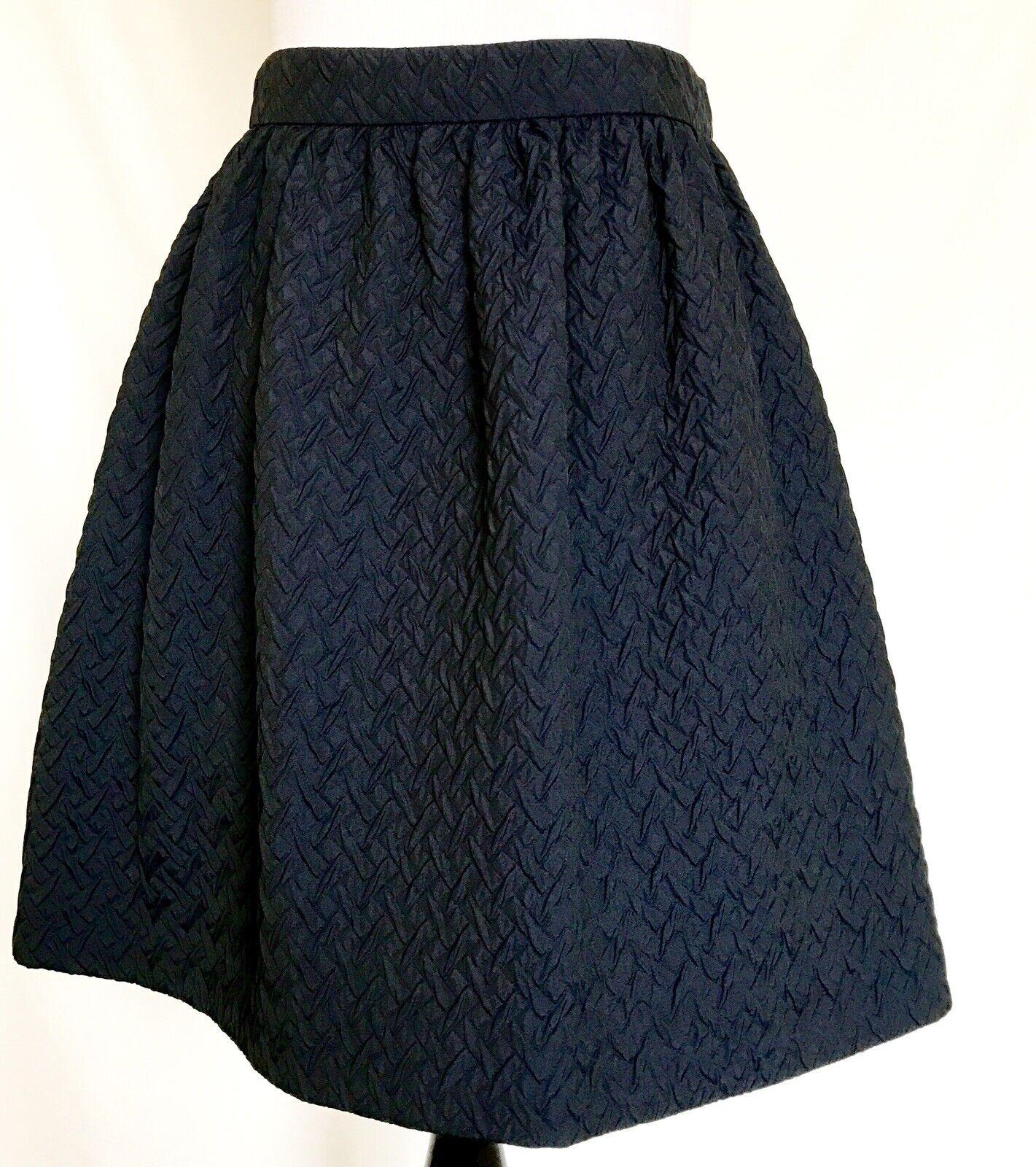 PRADA Blau Full Skirt. NWT Größe Italian 40 US 4 Retails  1485 Price  356