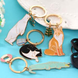New-Animal-Alloy-Keyfob-Car-Bag-Pendant-Key-Ring-Key-Chain-Creative-Gift-Hot