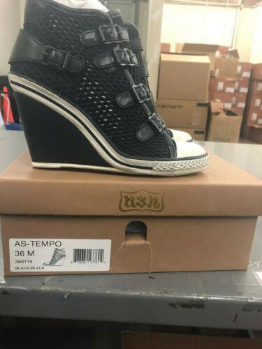 Ash Women/'s Tempo Wedge Sneaker 350114
