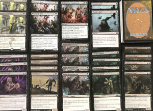 ZOMBIE-BLACK-DECK-60-Cards-Ready-To-Play-Magic-Mtg