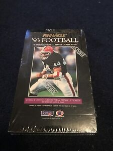 1993-Pinnacle-NFL-Football-Cards-Factory-Sealed-Box-36-packs