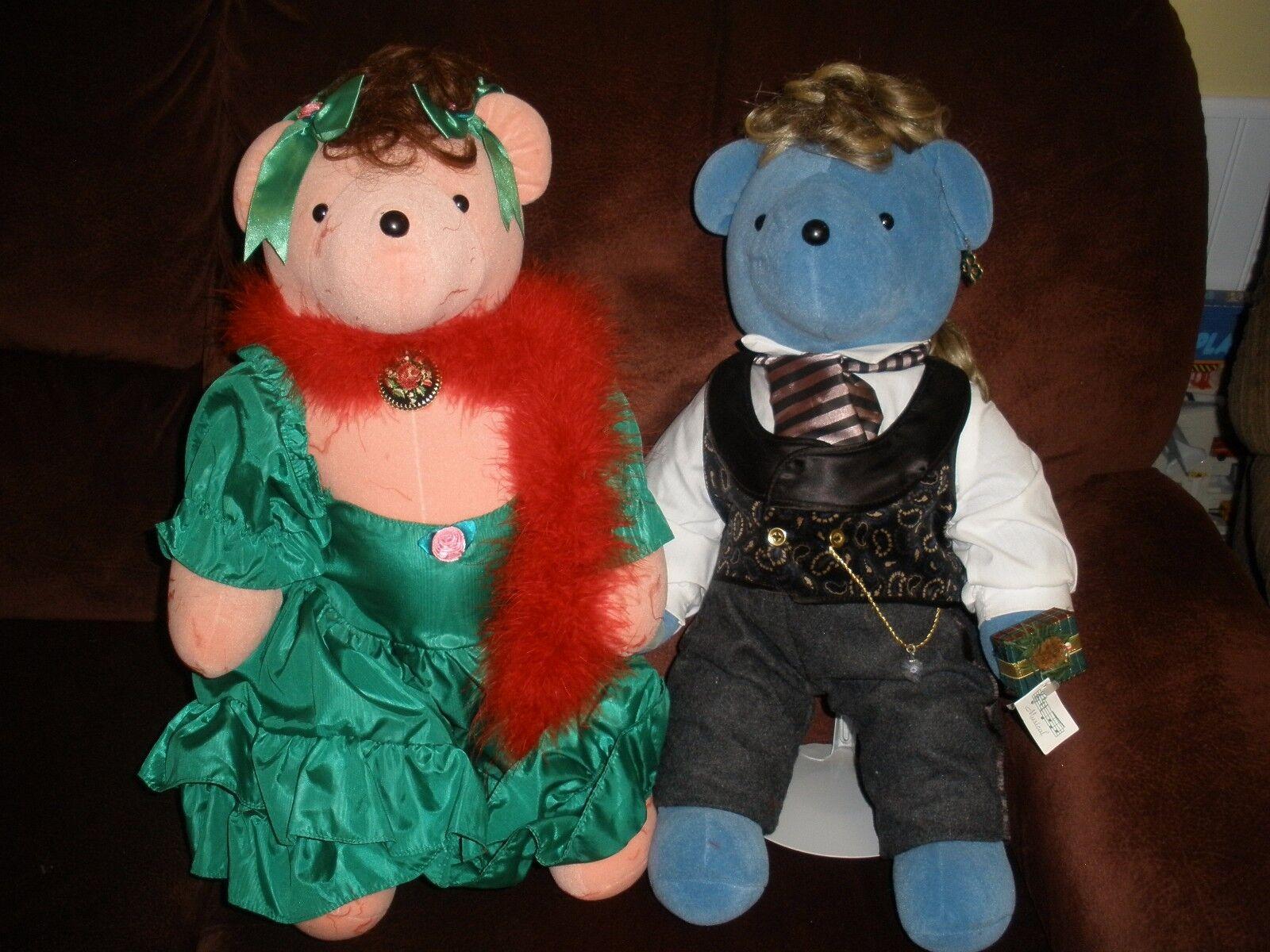 North American Bear Co VIB Scarlett O'Beara & Rhett Beartler set of 20  bears