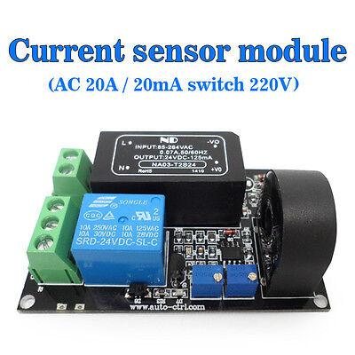 Niedrigerer Preis Mit Ac Sensor-modul 20a Schalter Leistung Ac 220v QualitäT Und QuantitäT Gesichert