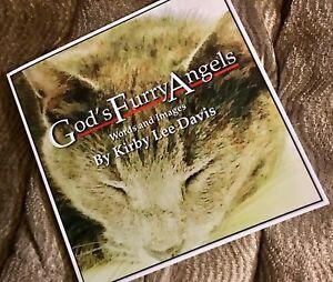 God-039-s-Furry-Angels-Signed-Illustrated-1st-Ed-trade-PB-novel-w-free-bookmark