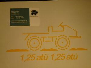 Unimog AUFKLEBER 401-411