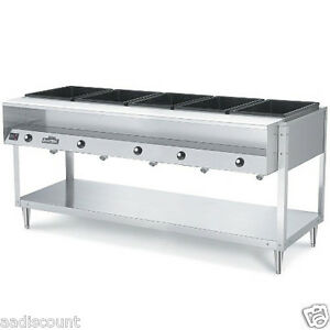 VOLLRATH-5-WELL-HOT-FOOD-STATION-STEAM-TABLE-38005