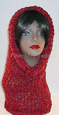 Handmade in the USA Womens Fashion Convertible Cowl Hoodie Hat Cowl Combo