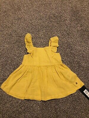 Girls M/&S 9-12 Months Cotton Dress Great Condition