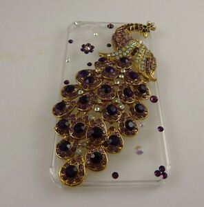 fits-iPhone-4-phone-case-peacock-3-d-crystal-bling-beautiful