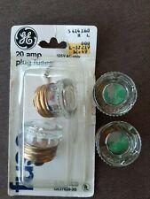 Vintage Ge General Electric 20 Amp 30 Amp Plug Fuses Ge37620 3d